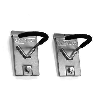 9.5 in. H x 6 in. W Vertical Bike Hook (2-Pack)