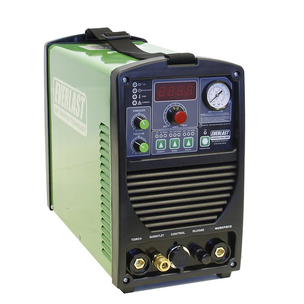 Everlast PowerUltra 206PI TIG / Stick / Plasma Welder