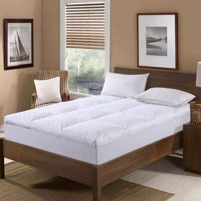 233 Thread Count Cotton Nano King Feather Bed