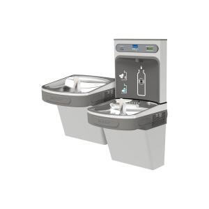 Elkay Filtered 8 GPH EZH2O ADA Stainless Steel Bi-Level Drinking Fountain with Bottle Filling Station by Elkay