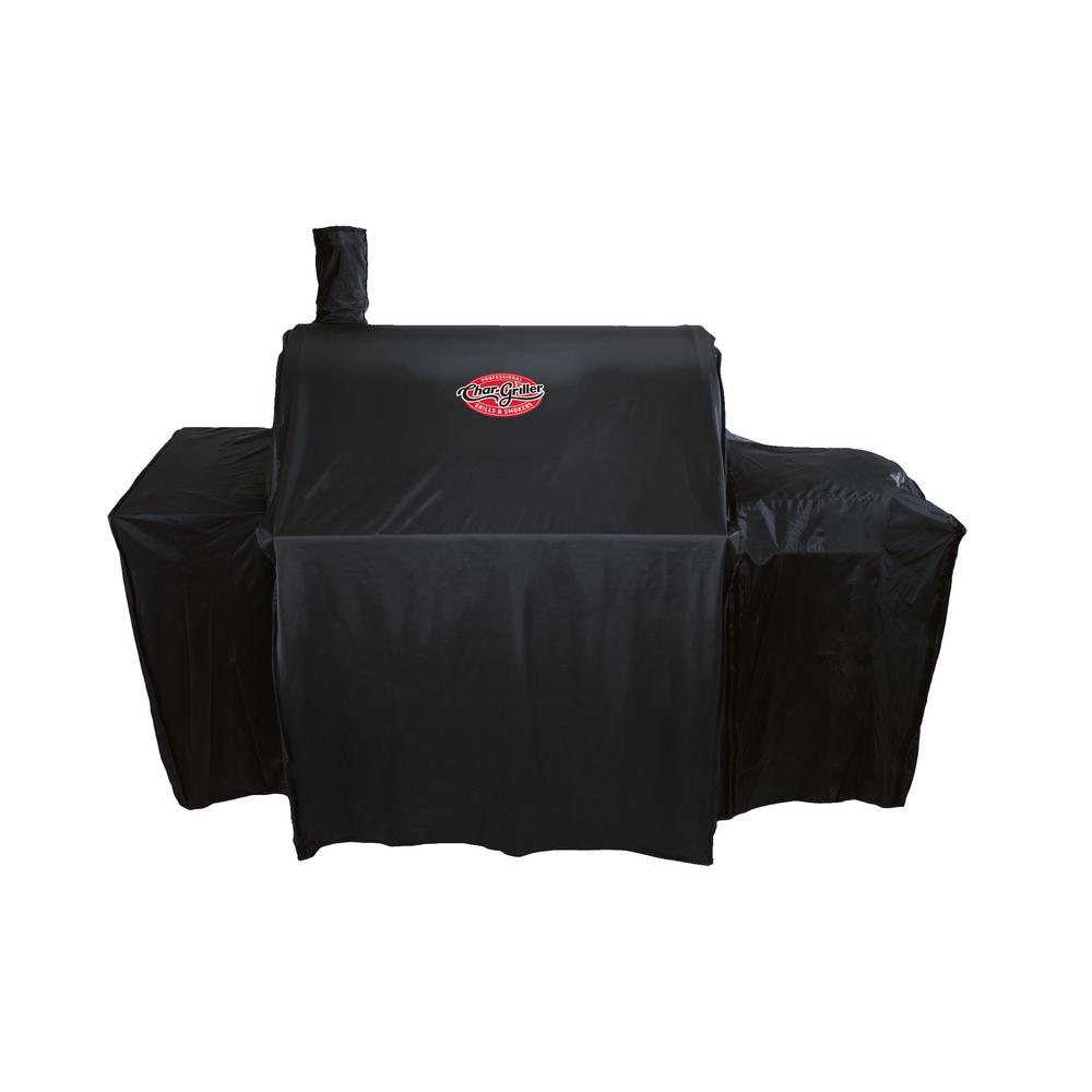1bb70c0514cc Char-Griller Smokin' Champ Grill Cover-1655 - The Home Depot