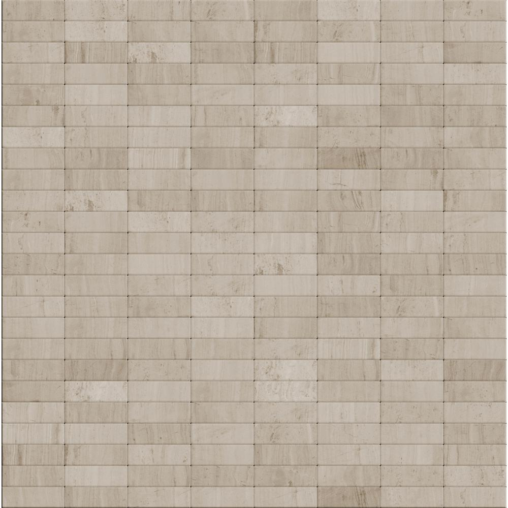 inoxia speedtiles hare natural mixed white gray in x in x 5 mm stone self adhesive. Black Bedroom Furniture Sets. Home Design Ideas