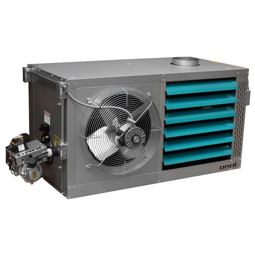 Omni Mount 500,000 BTU Bi-Directional Waste Oil Heater