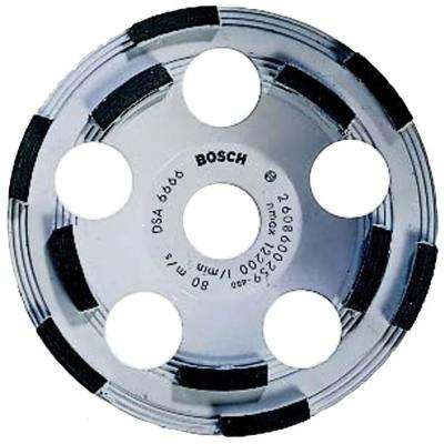 5 in. Diamond Cup Grinding Cut-Off Wheel for Cutting Concrete