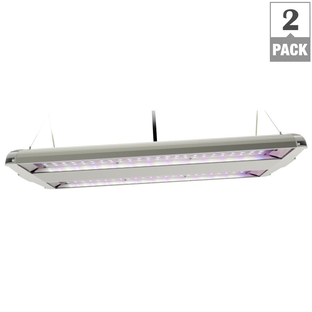 14 in. 82-Watt Integrated Full Spectrum LED Non-Dimmable Indoor High Bay