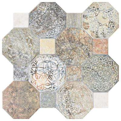 Silex Decor 17-3/4 in. x 17-3/4 in. Ceramic Floor and Wall Tile (17.87 sq. ft. / case)