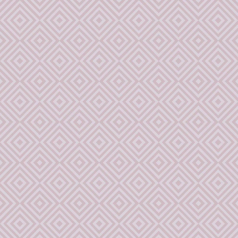 Metropolitan Lavender Geometric Diamond Wallpaper Sample