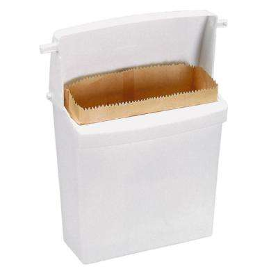 8-1/2 in. Waxed Bags for Sanitary Napkin Receptacle (250-Count)