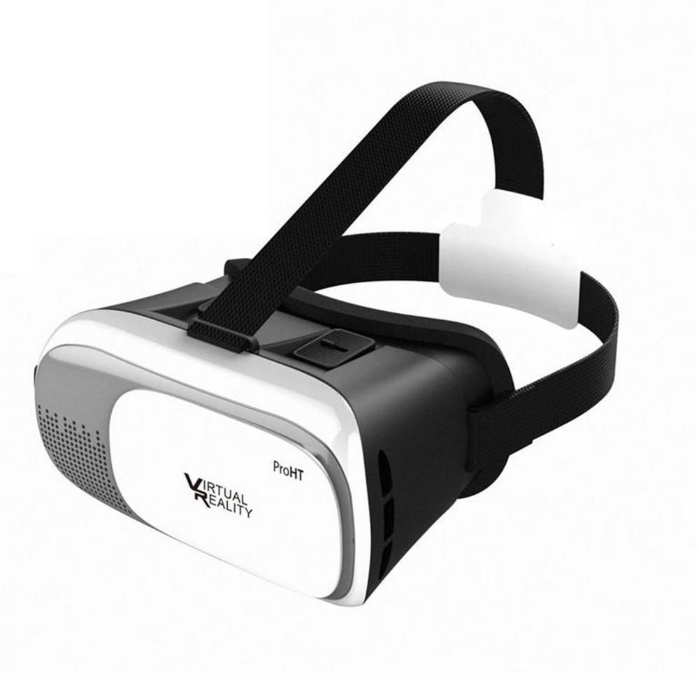 360 Degree VR Headset for Android and iOS in White