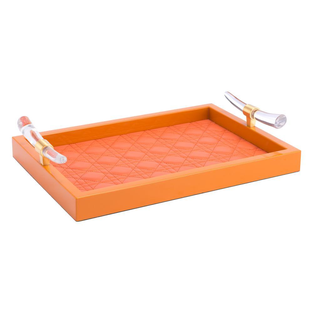 Gina Orange Tray
