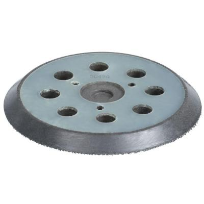 5 in. Round Hook and Loop Backing Pad (8-Hole)