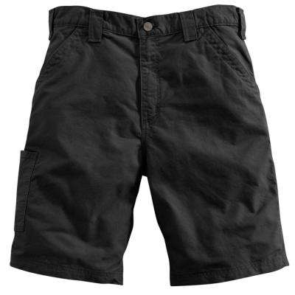 Men's Regular 29 Black Cotton  Shorts