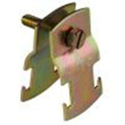 3/4 in. Universal Pipe Clamp - Gold Galvanized