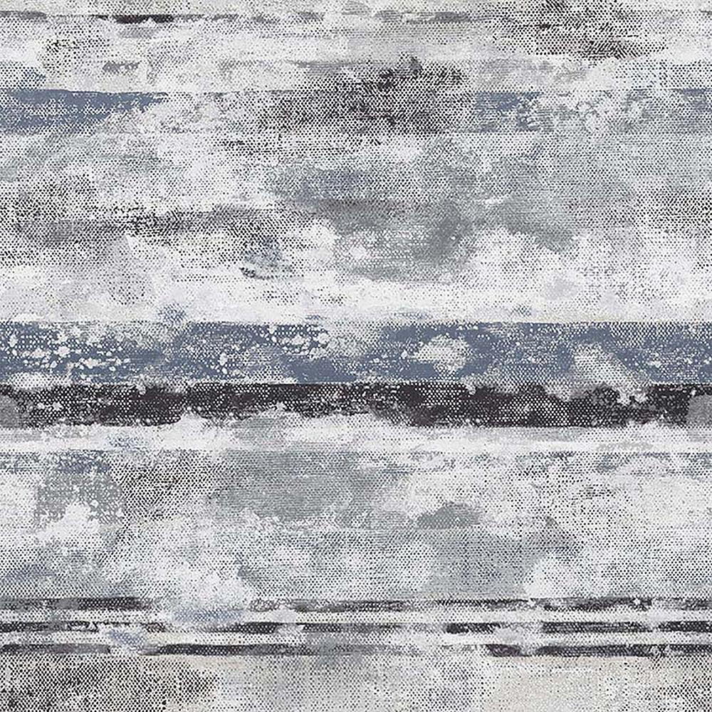 57.8 sq. ft. Abigal Taupe Stripe Wallpaper