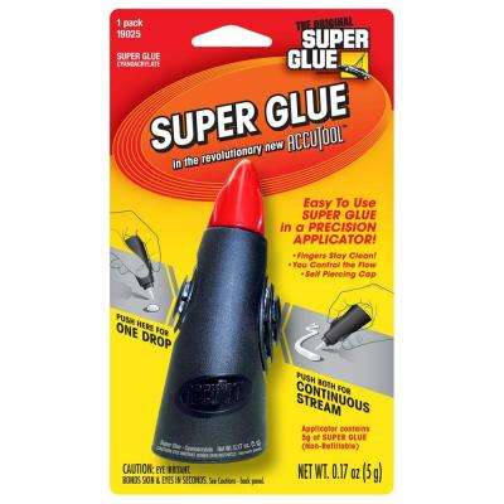 0.17 oz. Super Glue Accutool Precision Applicator (12-Pack)