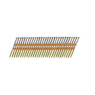 2-3/8 in. x 0.113 Plastic Collated Bright Ring Shank Framing Nails (500 per Box)
