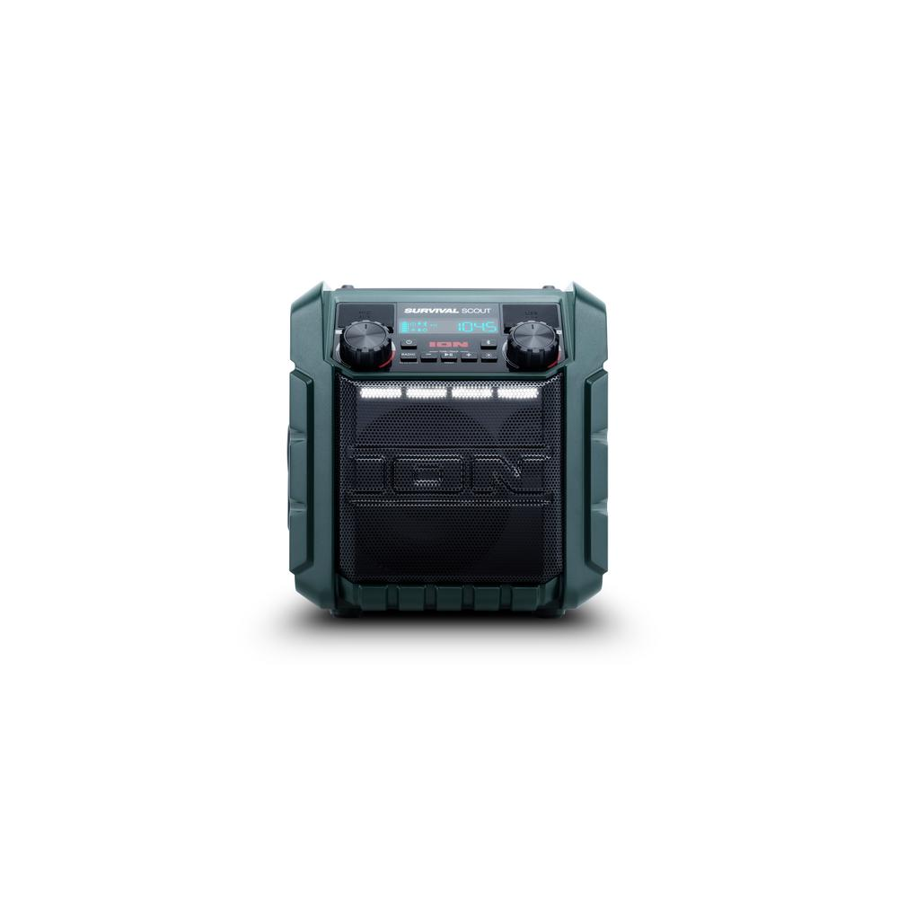 Ion Survival Scout Solar-Charging Emergency Weather Radio...