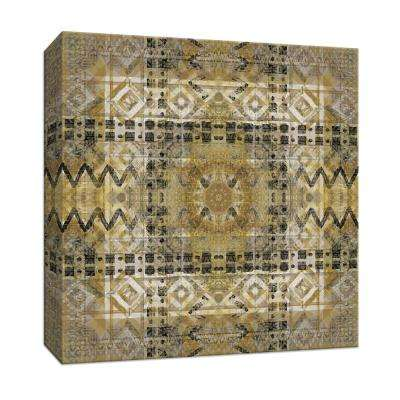 15 in. x 15 in. ''Kaleidoscope Tribal'' By PTM Images Canvas Wall Art