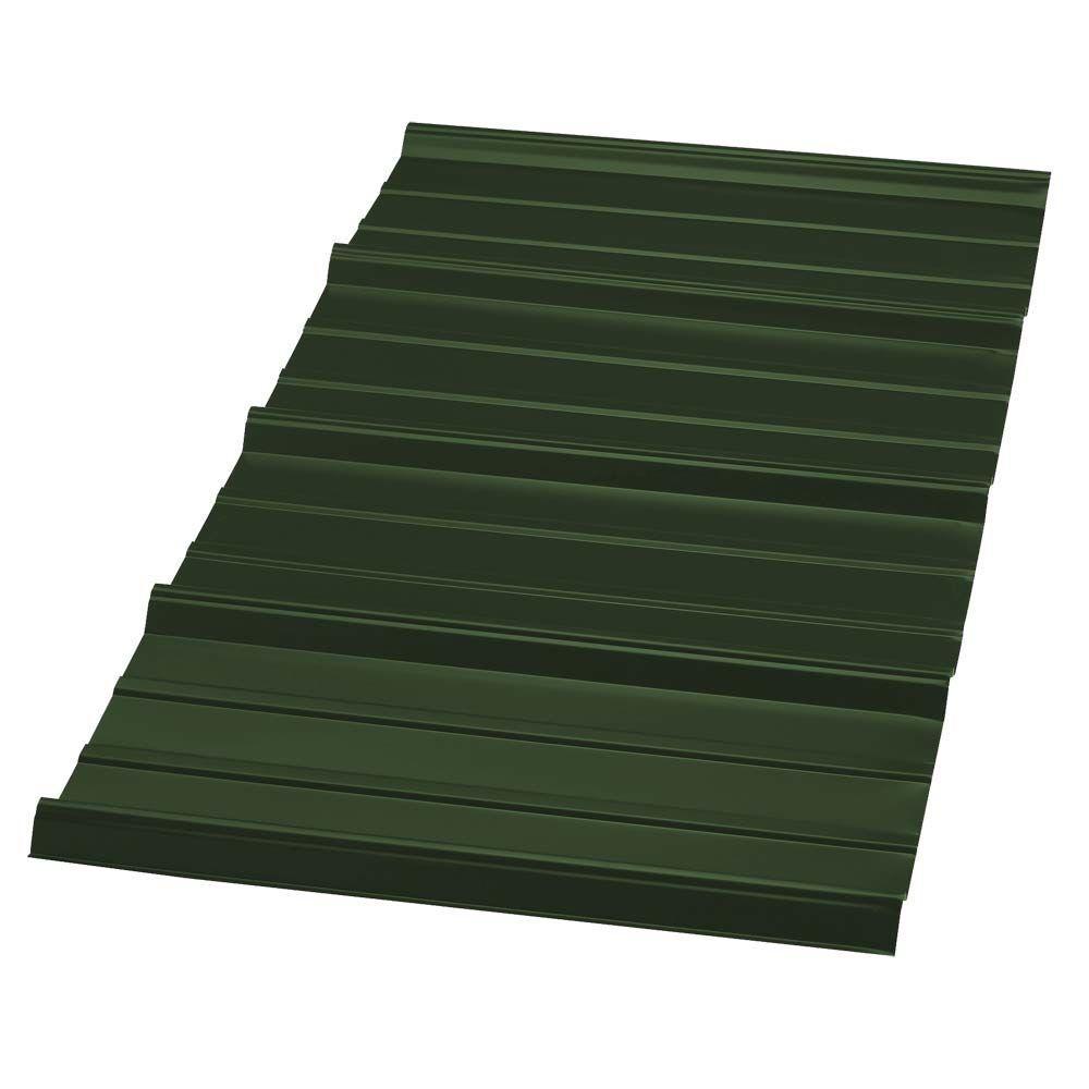 Metal Sales 10 Ft Pro Panel Ii Metal Roof Panel In Forest