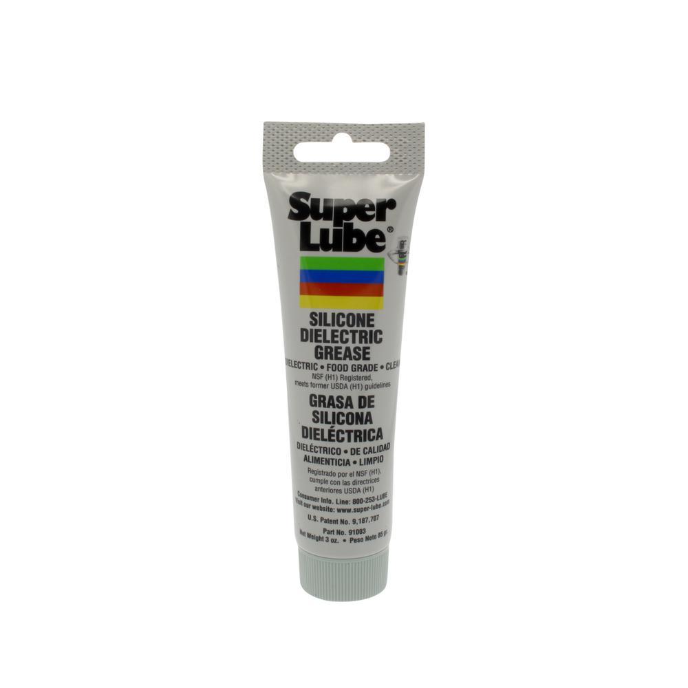 Super Lube 3 oz. Tube Silicone Hi-Dielectric & Vacuum Grease