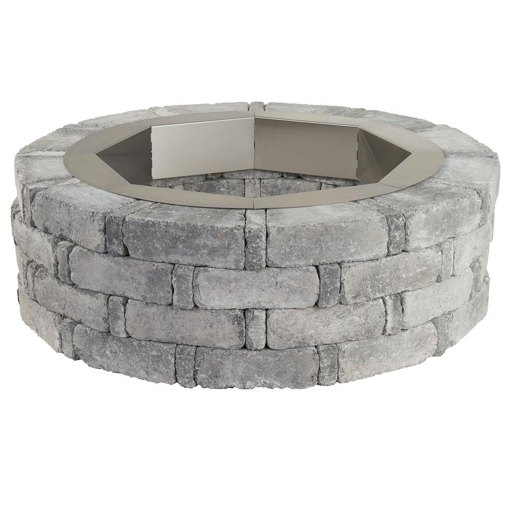 pavestone 360 fire view wood fire pits outdoor heating