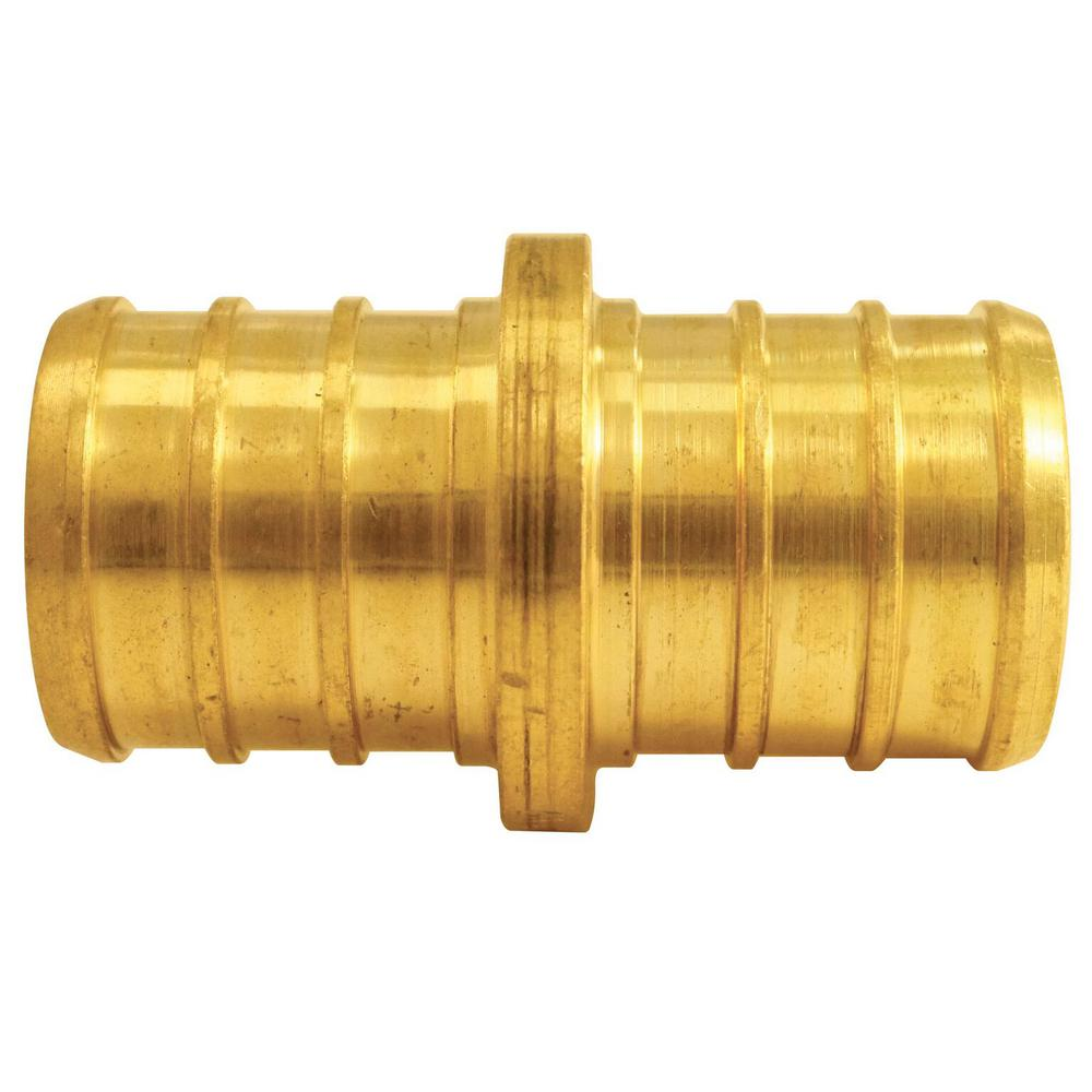 3/4 in. Brass PEX Barb Coupling