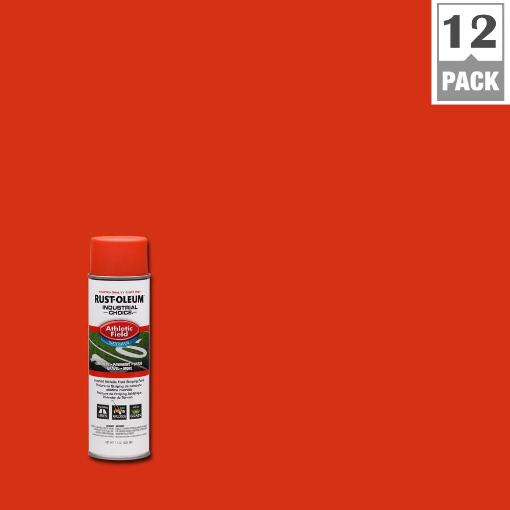 17 oz. AF1600 System Athletic Field Orange Striping Spray Paint (12-Pack)