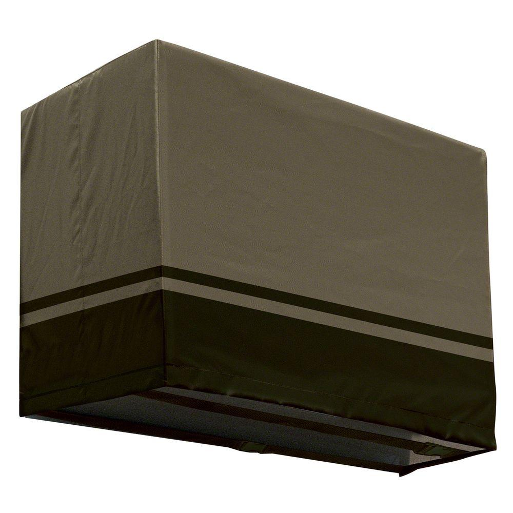 Classic Accessories 26.5 in. x 17.5 in. Villa Window Air Conditioner Cover - Large