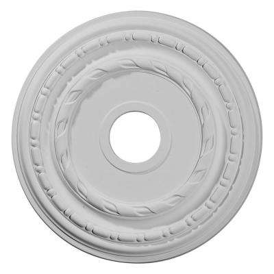 3.63 in. x 17.88 in. x 1.25 in. (Fits Canopies up to 5-1/8 in.) Dublin Ceiling Medallion