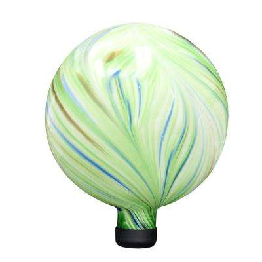 10 in. Green Gazing Globe