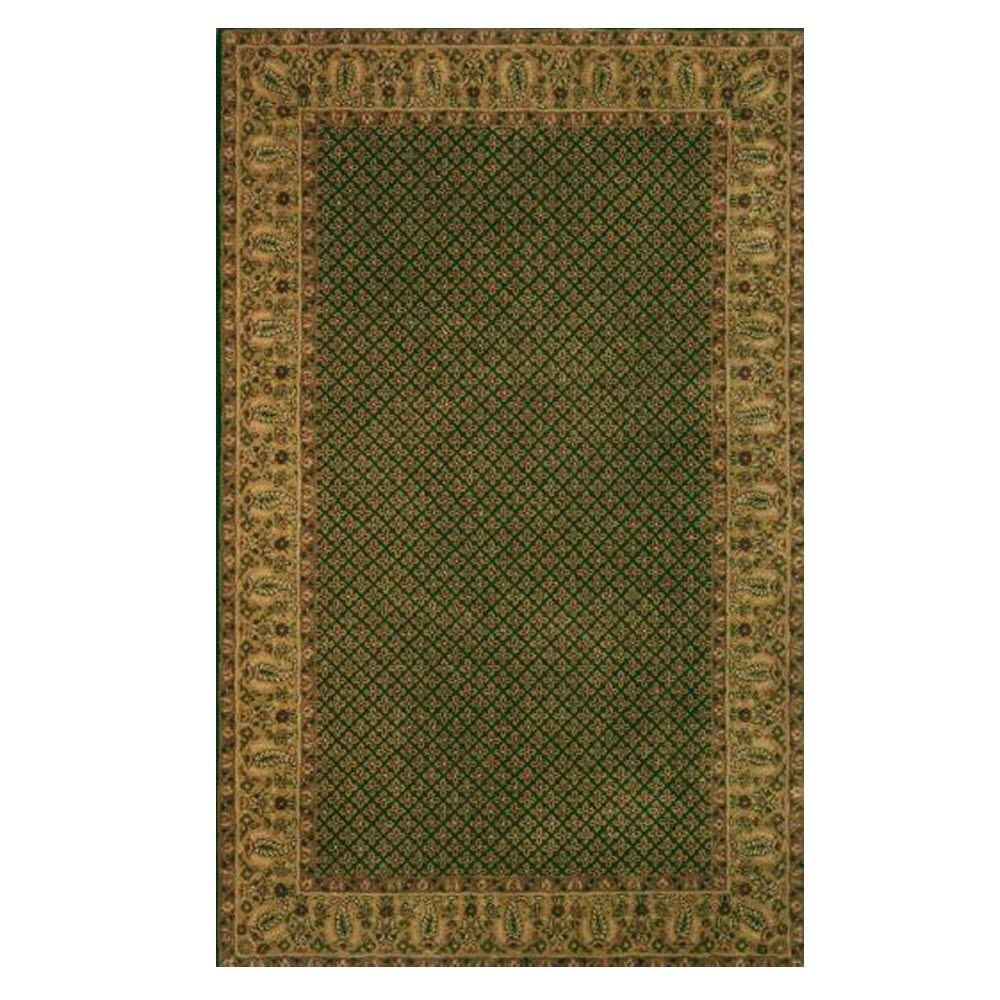 Home Decorators Collection Lichi Dark Green 2 Ft. X 3 Ft