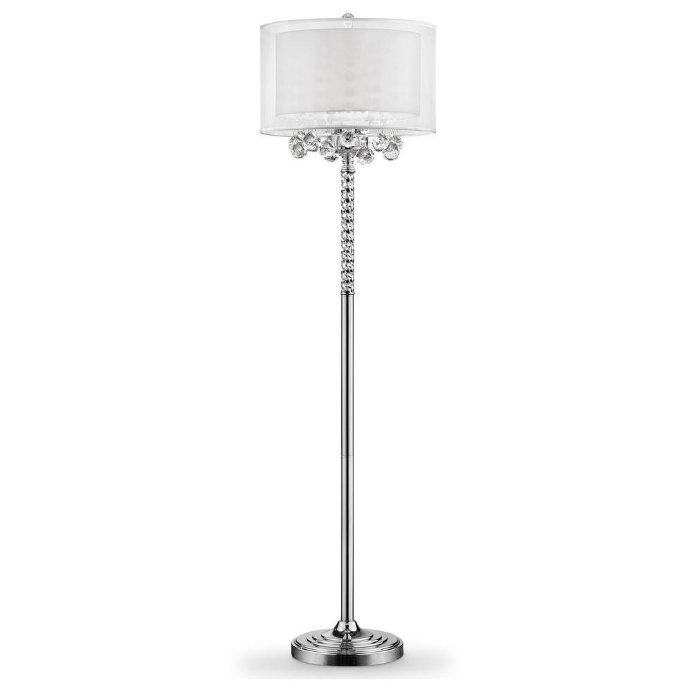 3bulb moiselle crystal floor lamp