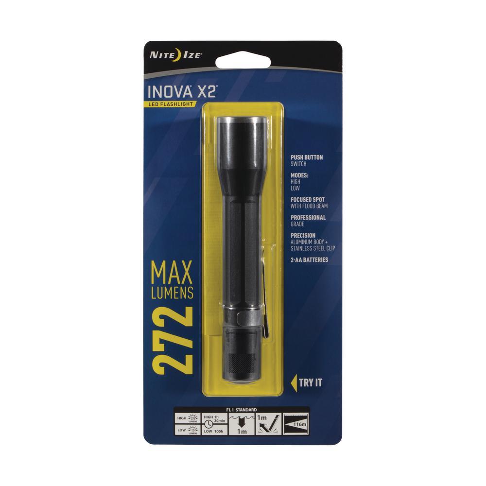 INOVA X2 LED Flashlight - Black