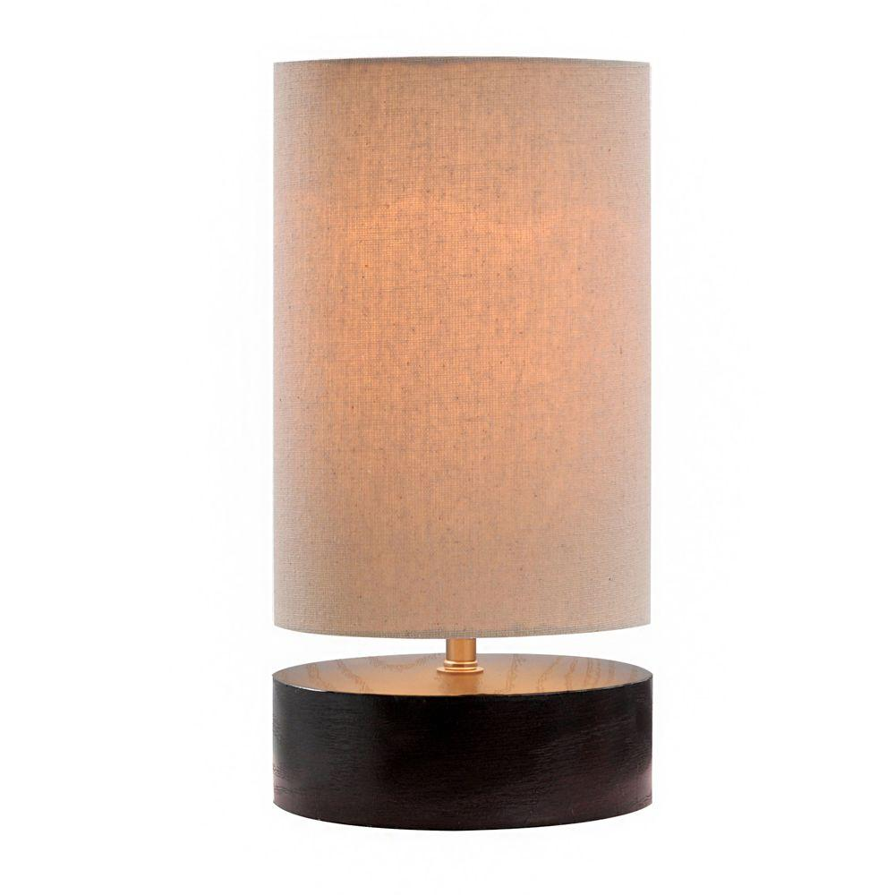 11.5 in. Espresso Bronze Up Light Accent Lamp