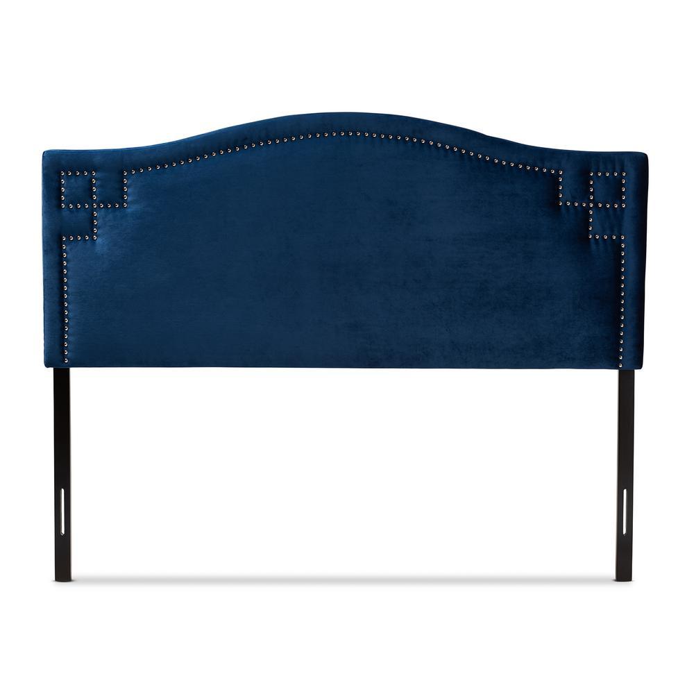 Aubrey Royal Blue King Headboard