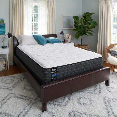 Response Performance 12 in. Queen Plush Tight Top Mattress Set with 5 in. High Profile Foundation