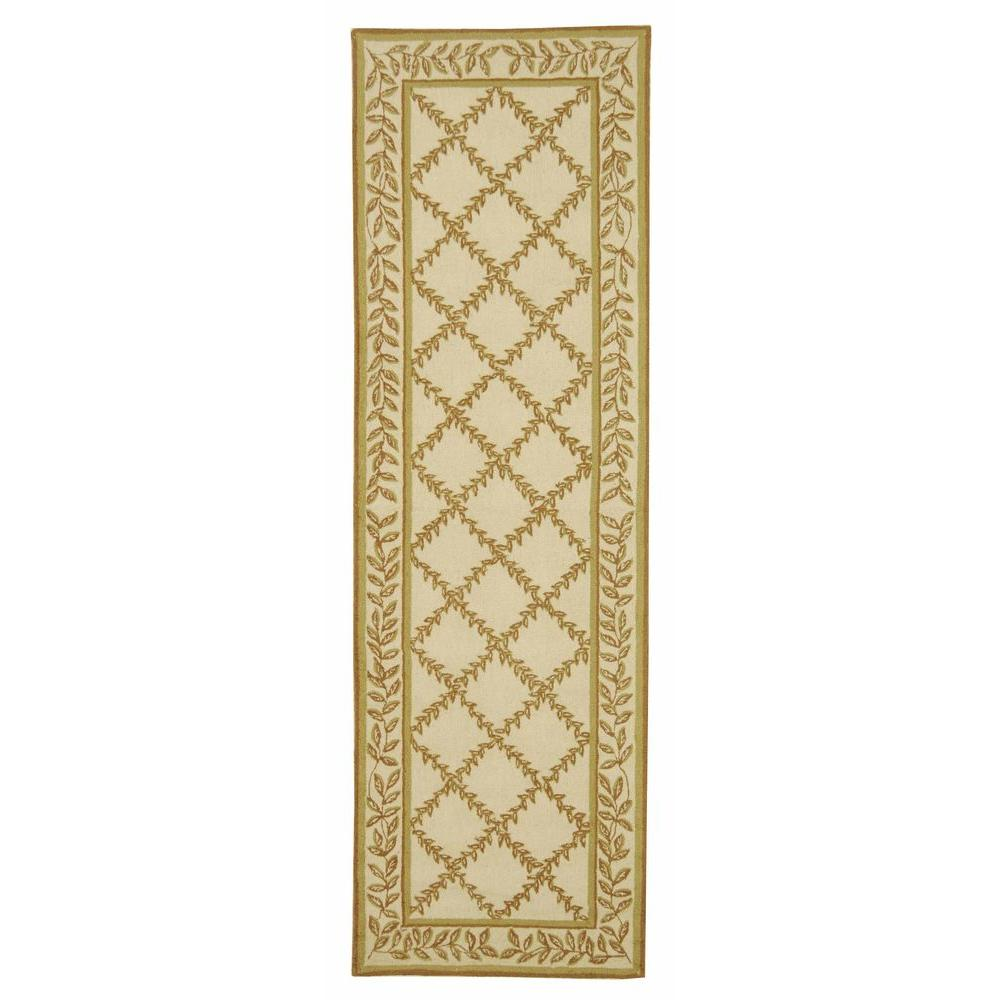 Chelsea Ivory/Camel 2 ft. 6 in. x 6 ft. Runner