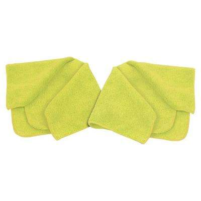 16 in. x 16 in. Microfiber Cleaning Cloth (2-Pack)