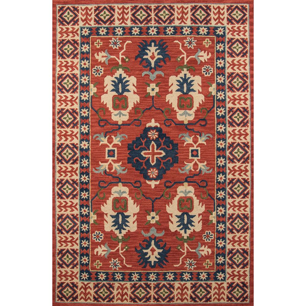 Tangier Red 3 ft. 6 in. x 5 ft. 6 in.