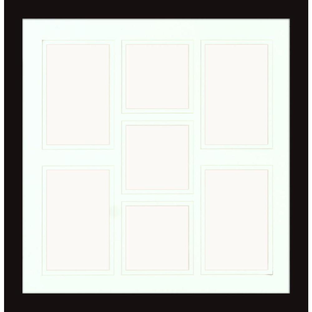 7 - Black - Wall Frames - Wall Decor - The Home Depot