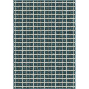 Orian Rugs See-Saw Blue 3 ft. 10 inch x 5 ft. 2 inch Indoor Accent Rug by Orian Rugs