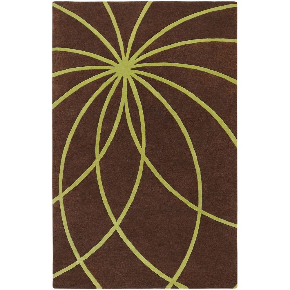Artistic Weavers Michael Brown 4 ft. x 6 ft. Area Rug