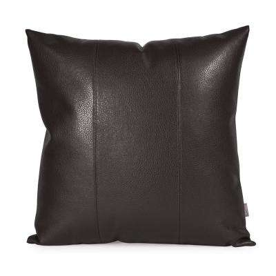 Avanti Black 20 in. x 20 in. Pillow