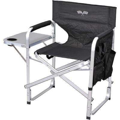 Stylish Camping Green Full Back Folding Director's Chair