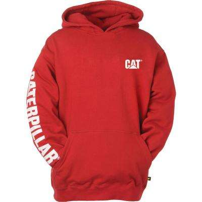 Trademark Banner Men's Medium Chili Pepper Cotton/Polyester Hooded Sweatshirt