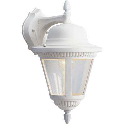 Westport Collection White Outdoor Wall Lantern