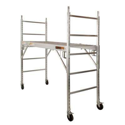 Job Site Series 6 ft. x 6 ft. 2.5 ft. Scaffold 700 lb. Load Capacity