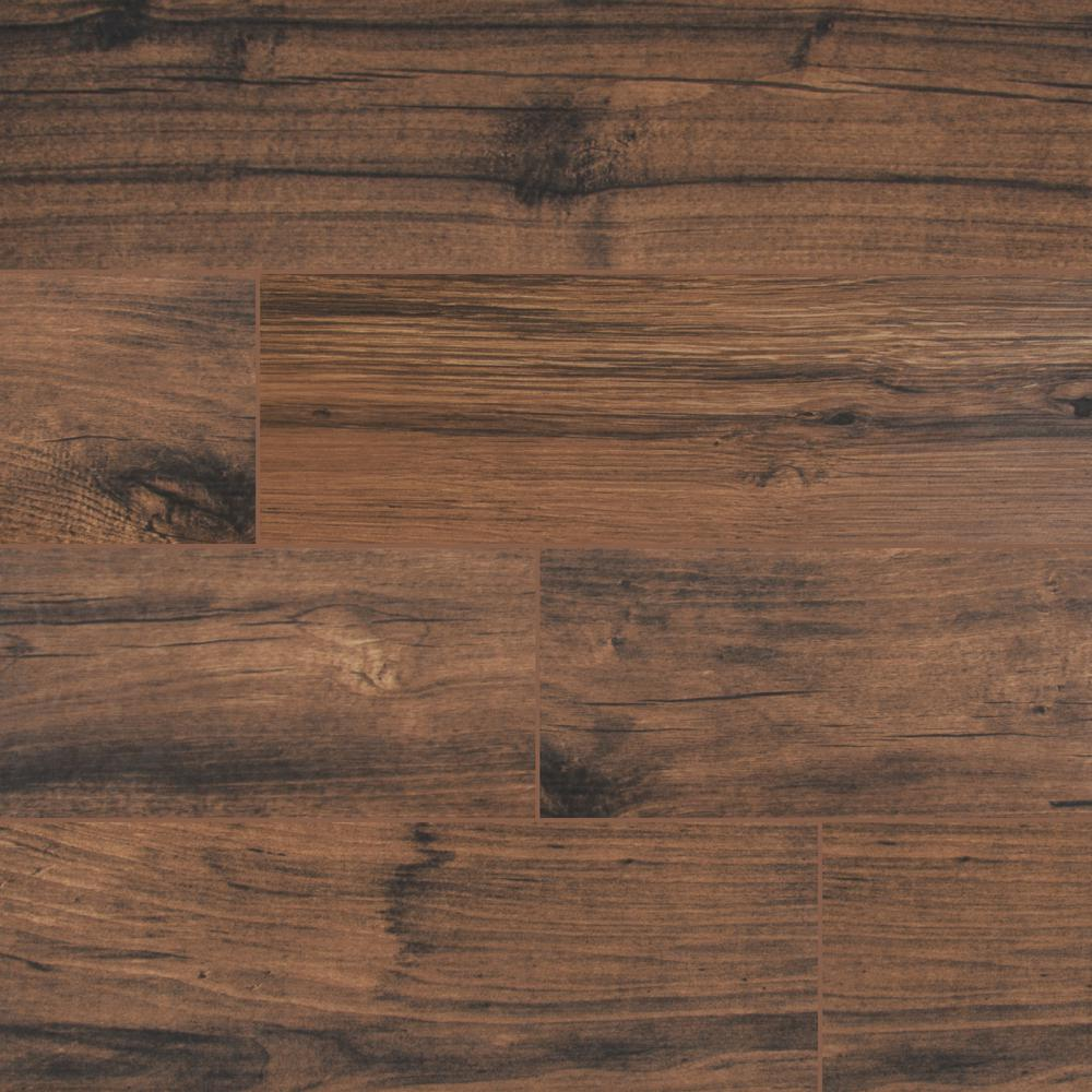 MSI Arbor Walnut 6 in. x 36 in. Matte Porcelain Floor and Wall Tile (15 sq. ft. / case)