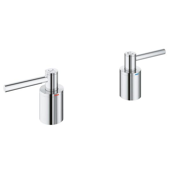 StarLight Brushed Nickel Atrio Lever Handle Bath