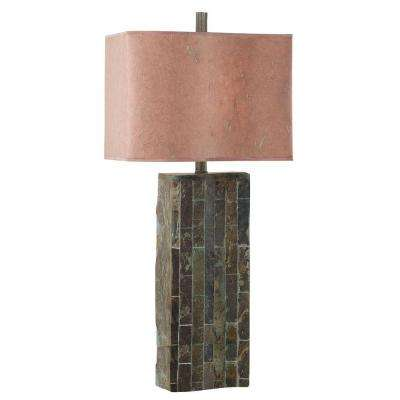 Natural Slate Table Lamp